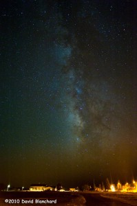 Milky Way Galaxy as seen from northern Arizona.