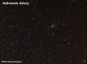 Andromeda Galaxy -- our neighbor.
