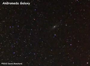 Andromeda Galaxy -- our neighbor.