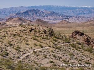 Mountain biking trails in Bootleg Canyon: Inner Caldera.