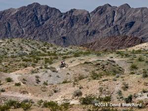 Mountain biking trails in Bootleg Canyon: I.M.B.A.