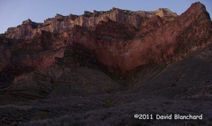 Early morning light on the South Rim of the Grand Canyon.