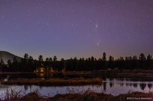 Comet PanSTARRS and M31.