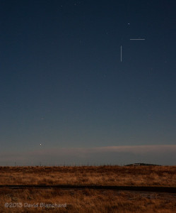 Comet ISON and planet Mercury in early morning twilight.