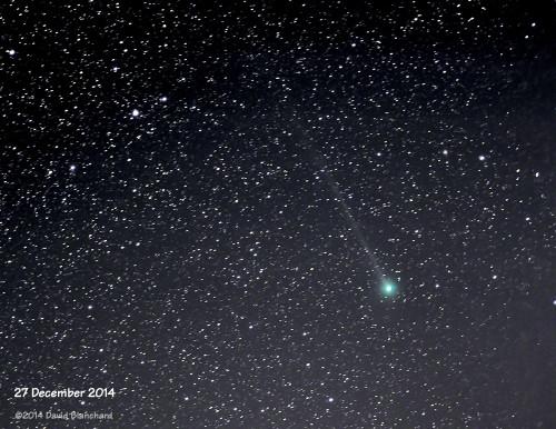 Comet C/2014 Q2 Lovejoy: 27 December 2014