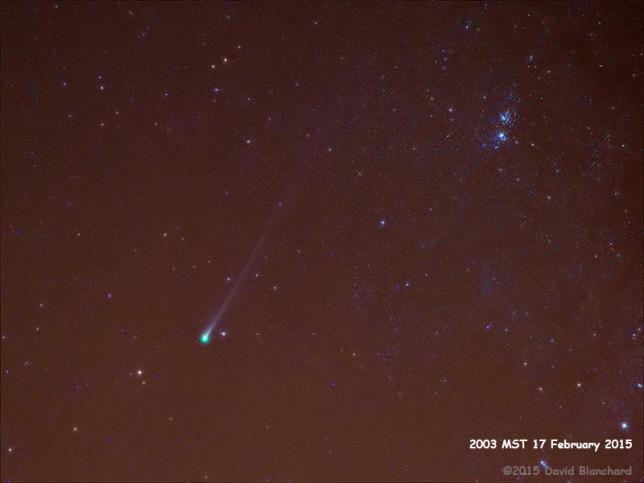 Comet Lovejoy: 17 February 2015