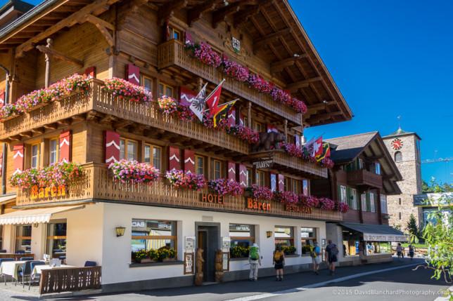 Village of Adelboden.