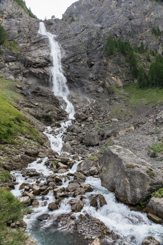 Lower section of Engstligen Wasser fälle.