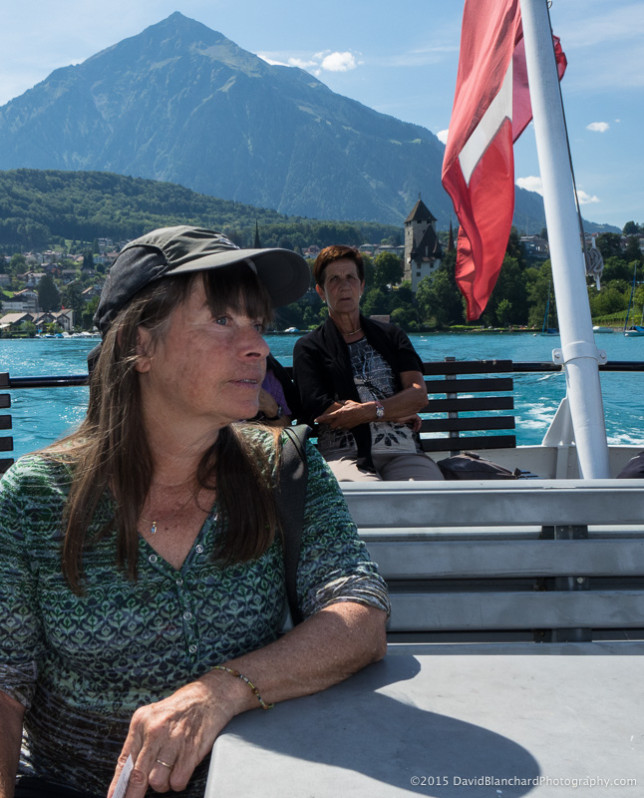 Boat ride across Thunersee.