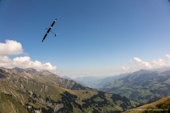 RC sailplanes on Schwandfeldspitz.
