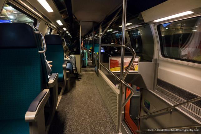 Interior of Inter-City express train. Nice!