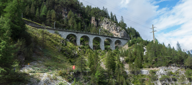 One of the many viaducts along the Albulabhn.
