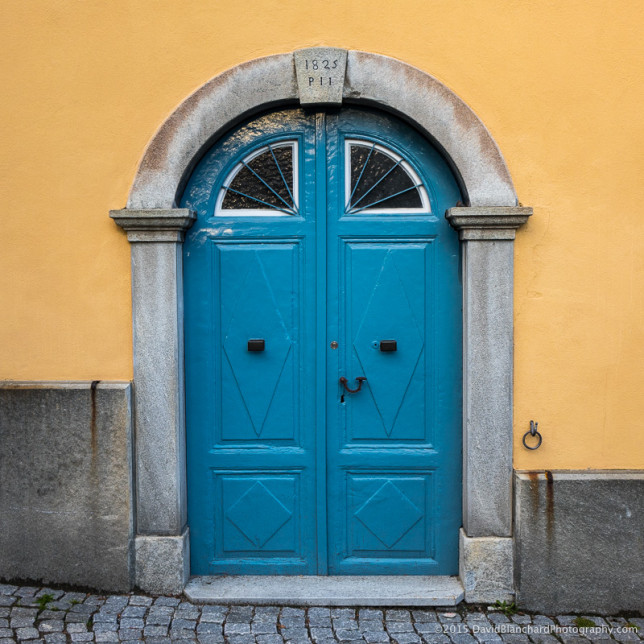 Everyone photographs colorful doors. I do, too.