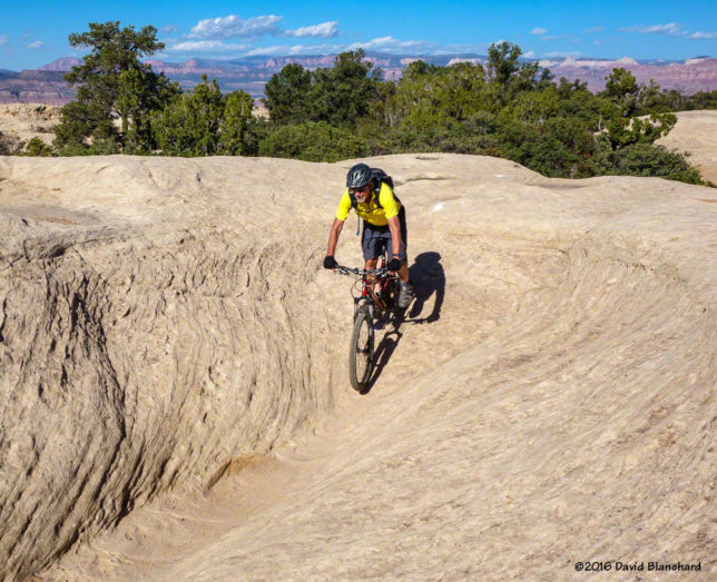 Rolling down a sandstone bowl...