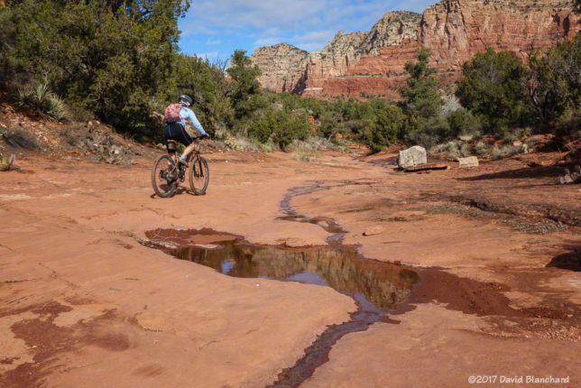 Courthouse Butte trails.