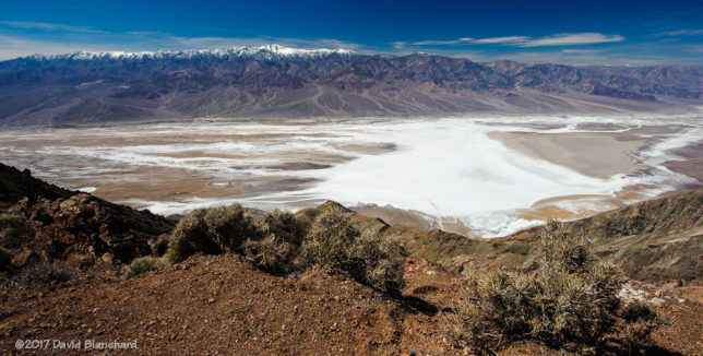 Dante's View of Panamint Range and Badwater Basin.