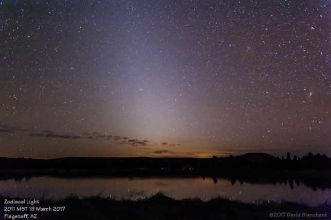 Zodiacal Light (28mm focal length).