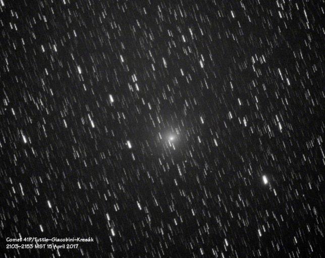Comet 41P/Tuttle–Giacobini–Kresák.