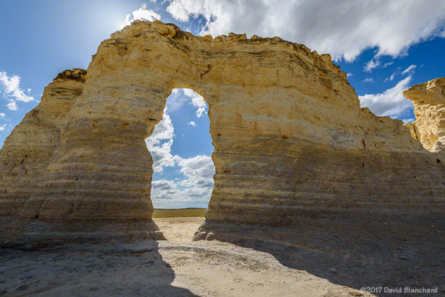 Monument Rocks, Kansas.