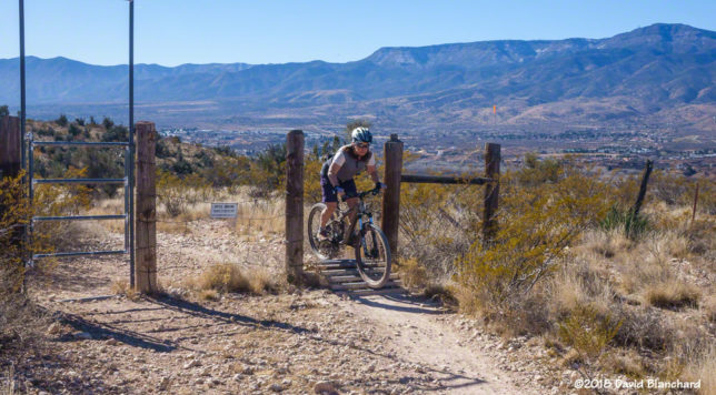 Lower Raptor Trail in Dead Horse Ranch State Park.
