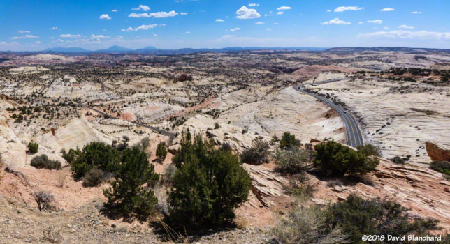 A section of Utah 12 northeast of Escalante.