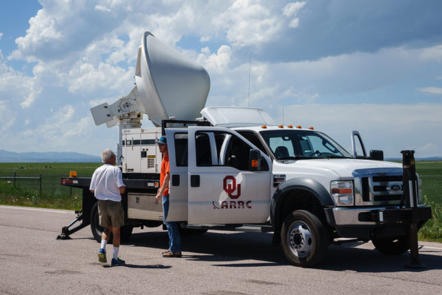University of Oklahoma research radar.