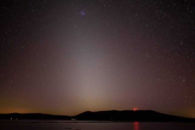Zodiacal Light. (28mm lens)