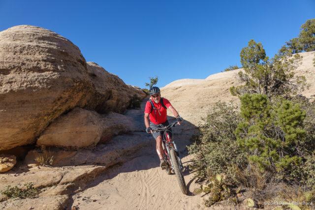Practice Trail, Gooseberry Mesa.