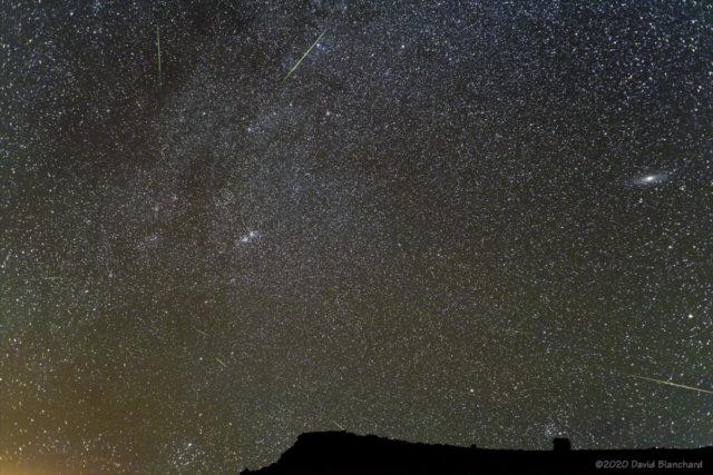 Perseid meteors—2020.
