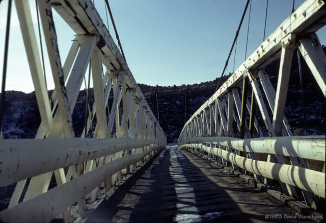 Dewey Bridge - 1983