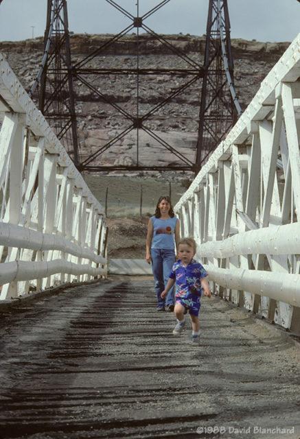 Dewey Bridge - 1988.