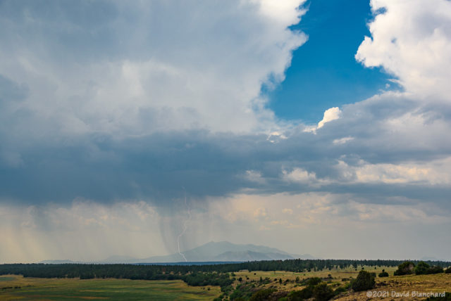 Lightning in northern Arizona.