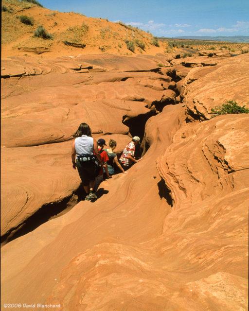 Lower Antelope Canyon (2006, Fuji Velvia 50).