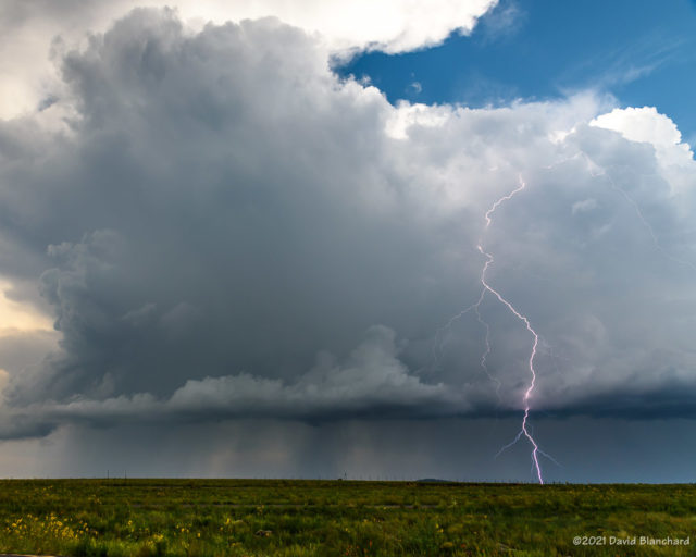 Lightning near Mormon Lake.